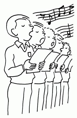 Partitions des chants de la messe du d buch 2011 - Chorale dessin ...